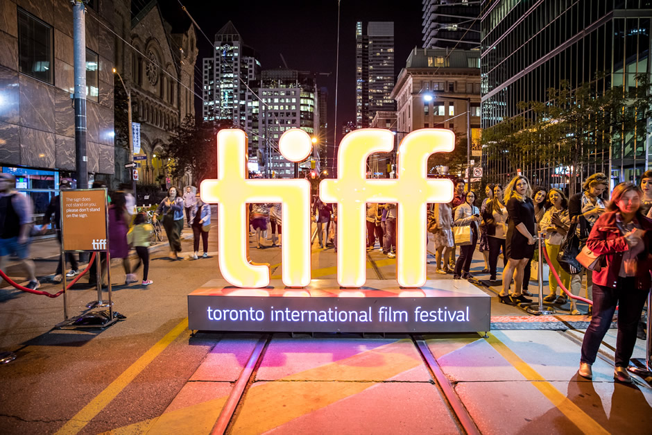 The Toronto International Film Festival sign