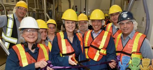 Workers at Hamilton Mondelez