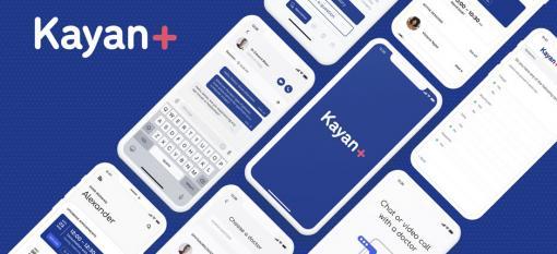 Images of Kayan Health phone app
