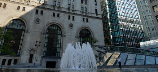 Toronto, Ontario's downtown core